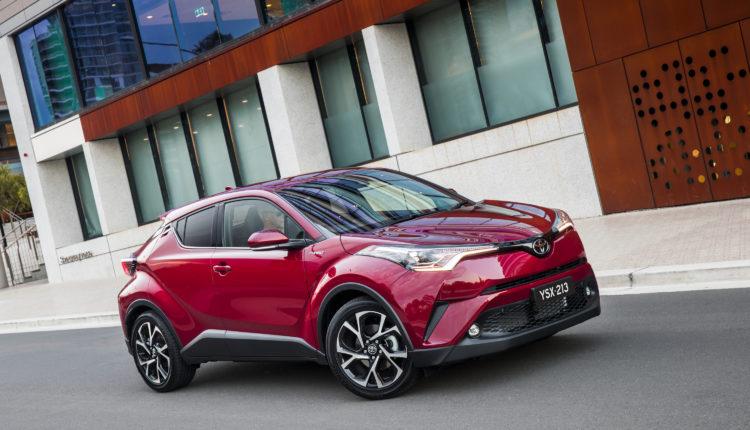 Toyota CH-R от 2016