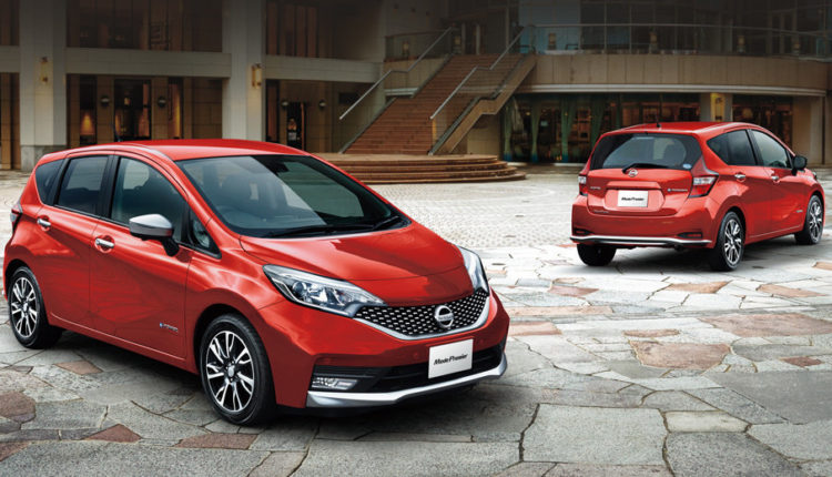 Nissan Note от 2016