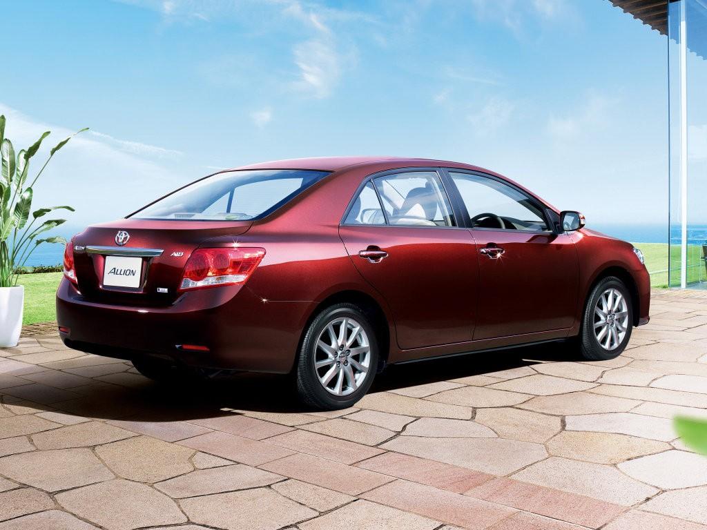 Toyota Allion от 2016 года