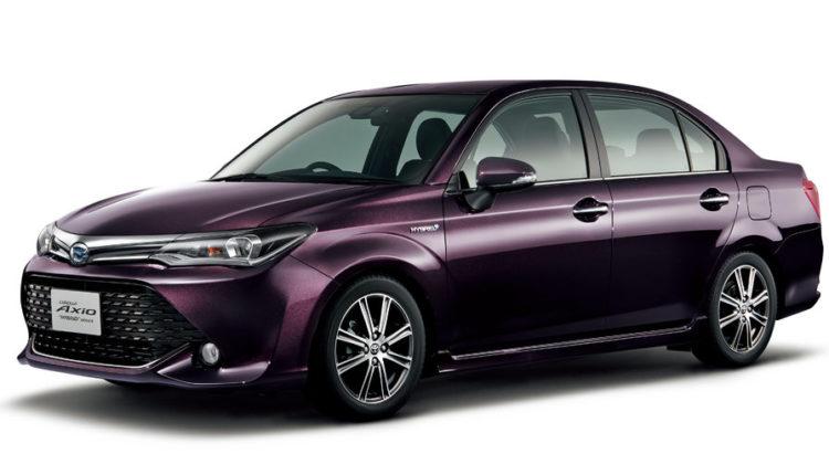 Toyota Corolla Axio от 2016
