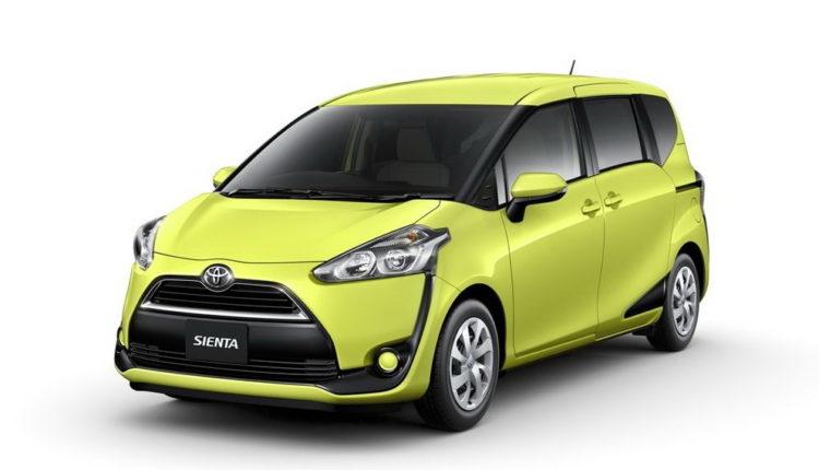 Toyota Sienta от 2016
